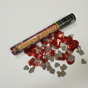 "Konfeti patranka ""Svatebni konfety"""