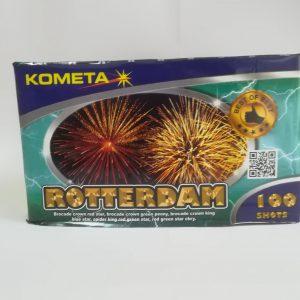 """Fejerverkas """"ROTTERDAM"""" 100 šūvių baterija"""