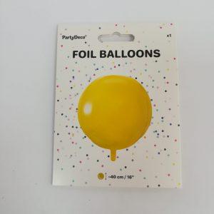 """Folinis balionas """"AUKSINIS BURBULAS"""""""