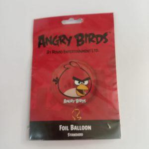 """Folinis  balionas """"ANGRY BIRDS"""" raudonas"""